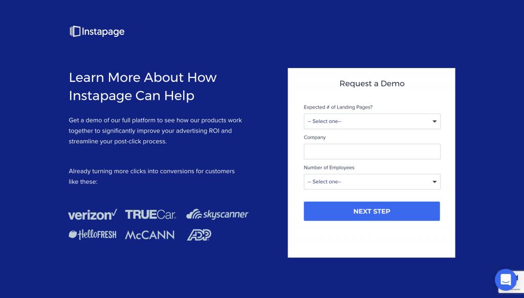Instapage Enterprise Pricing