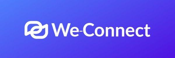 logo we-connect linkedin automation tool - linked helper alternative to meet leonard